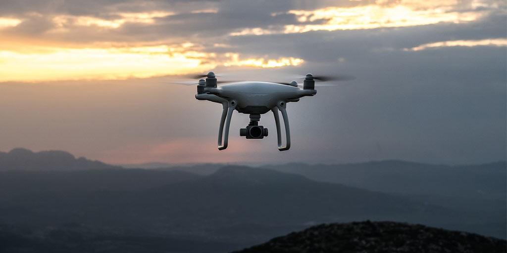 Quadrocopter mit langer Akkulaufzeit