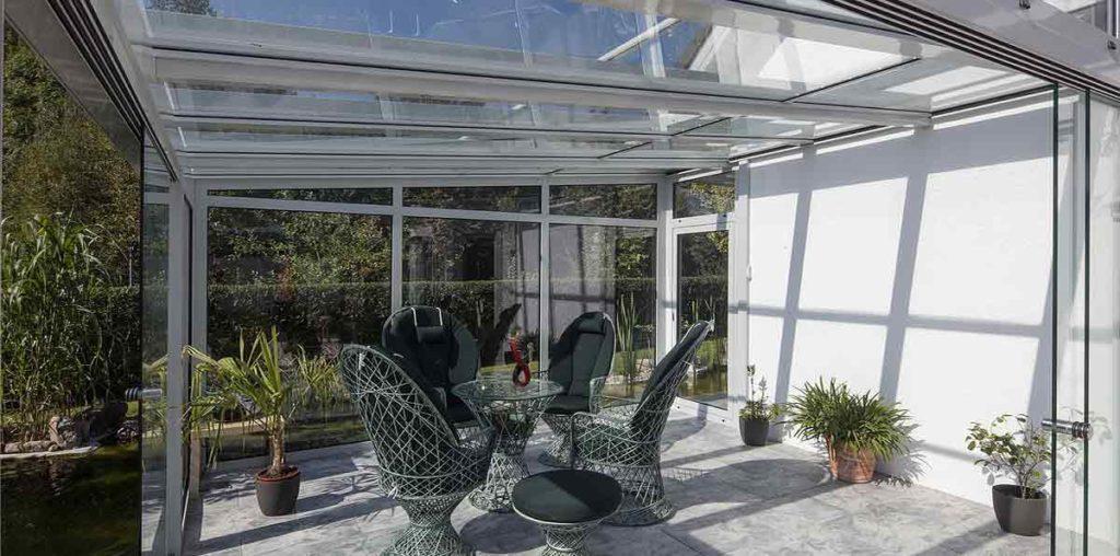 Fensterputzroboter für Wintergärten