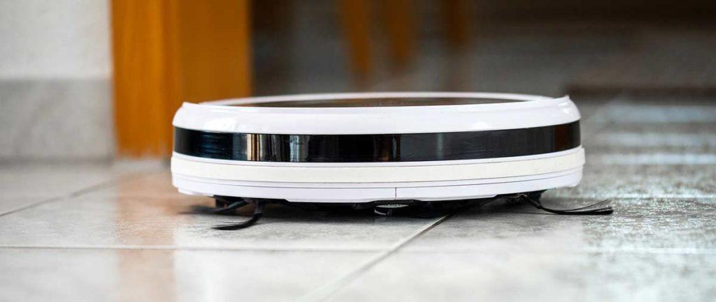 Saugroboter mit Laserscanner