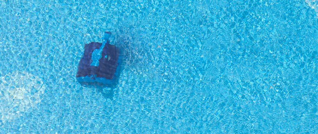 Poolroboter ohne Kabel