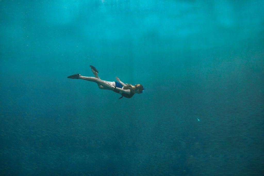 unterwasser roller