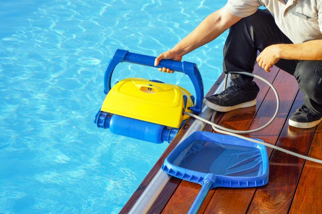 Poolroboter für kleine Pools